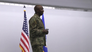 CMSAF Kaleth O. Wright JBER All Call Pt 1