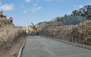 Corps supports DHS's request to build additional border barrier near San Diego