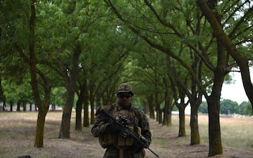 Faces of Sea Breeze: Cpl Battle Proud To Be American