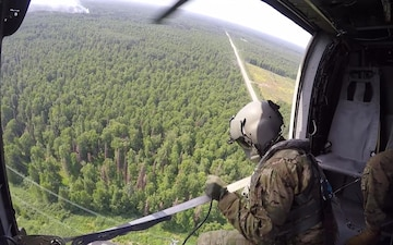 Alaska Army National Guard Aviation Assists with Wildfire Efforts