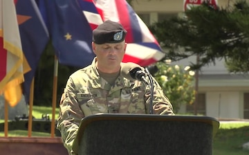 2019 9th Mission Support Command Change of Command ceremony