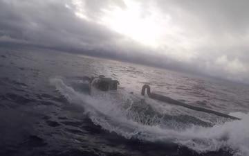 U.S. Coast Guard Cutter Munro crew interdicts suspected drug smuggling vessel