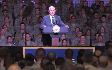 Vice President Michael R. Pence Visits VAFB