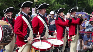 Fife and Drum Corps July 4th Performance