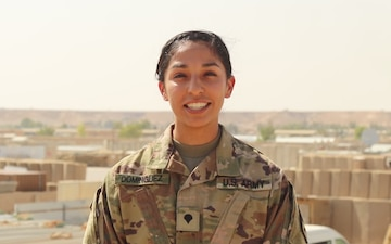 Arizona Diamondbacks Shout-out - Spc. Anna Dominguez