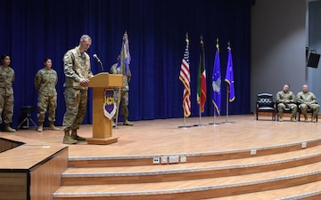 386th Air Expeditionary Wing Change of Command Ceremony