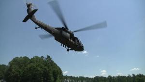 Paratroopers Take Plunge in Jordan Lake for Water Drop Operation