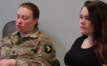 Michigan National Guard Cmd. Sgt. Maj. Catherine Farrell Provides Insight on Suicide Prevention
