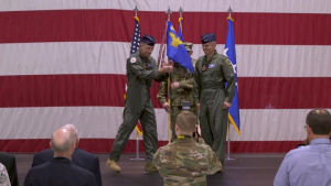 Maj Gen Charles Corcoran Assumes Command of USAF Warfare Center
