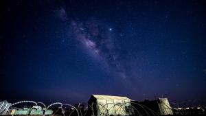 Milky Way Time-lapse at Nigerien Air Base 201