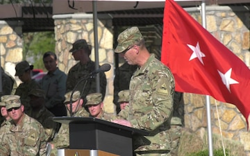 1st Armored Division Artillery Change of Command and Responsibility Ceremony