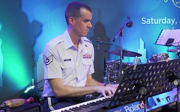 Air Force Band of the Pacific Performs in Bangkok (BROLL)