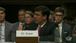 Senate Committee Considers Esper's Nomination as Defense Secretary, Part 2