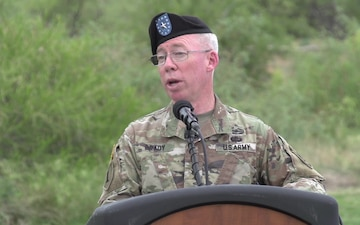 WSMR Change of Command, Brig. Gen. Greg Brady to Col. Dave Trybula