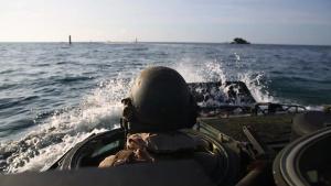 AAV shore to ship training