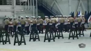 World War II Remains Return to U.S. in Repatriation Ceremony