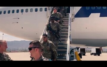 Sgt. Chester Welcomes Home Bulldog Brigade