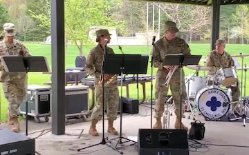 204th Army Band Ensemble Performs During Fort McCoy Armed Forces Day Open House