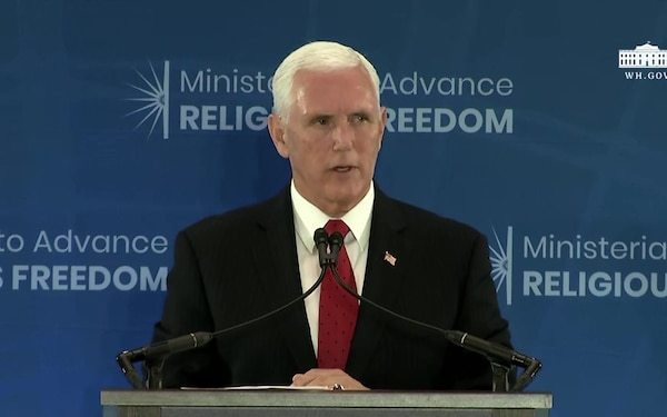 Vice President Pence Delivers Remarks at the Second Annual Religious Freedom Ministerial