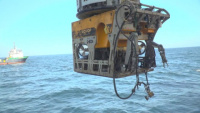 ROV enters the water to support Coimbra Oil Recovery