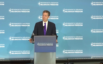 Ministerial to Advance Religious Freedom, Press Conference