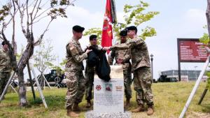2ID Regimental Walk Ceremony