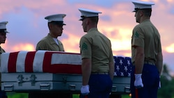 Tarawa Repatriation and Honorable Carry Ceremony
