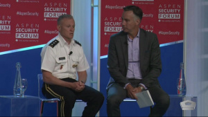 Director of the Defense Intelligence Agency speaks at Aspen Security Forum