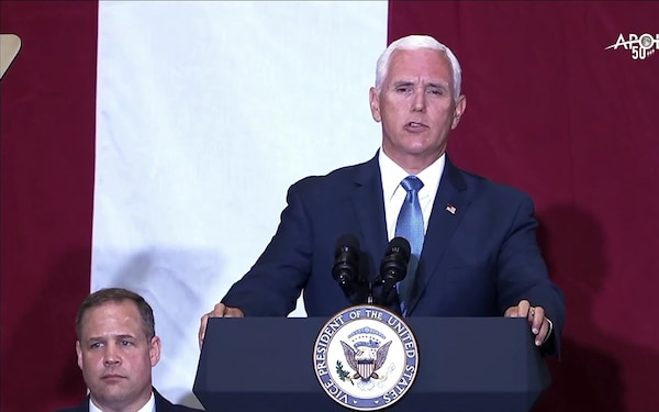 Vice President Mike Pence Delivers Remarks Celebrating the 50th Anniversary of the Apollo 11 Moon Landing