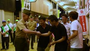 MCAS Iwakuni, Iwakuni city leadership conduct Joint Leadership Walk (Package)