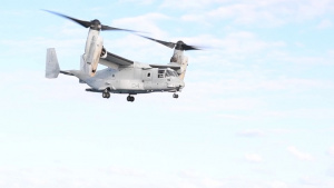 USS Wasp MV-22 Osprey Flight Operations