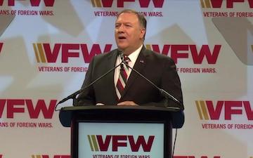 Secretary Pompeo Keynote Address at the VFW Annual Convention