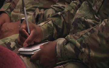 Army Reserve Soldier hones skills during Paralegal Warrior