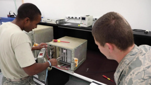 Team F.E. Warren Missile Communication Maintenance Team practices for the GSC