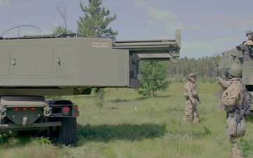 Michigan HIMARS at Exercise Northern Strike 19