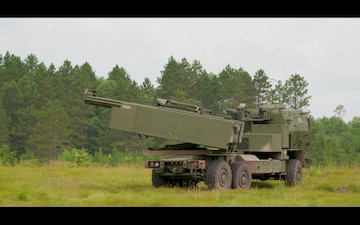 Michigan HIMARS Live Fire at Exercise Northern Strike 19
