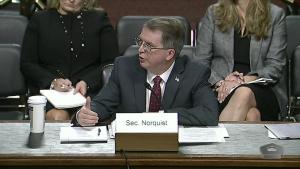 Senate Committee Considers Norquist's Nomination as Deputy Defense Secretary