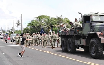 30th NCR, Guam Locals participate in 75th Liberation Day Parade