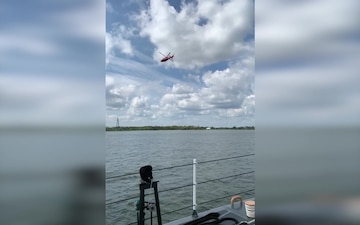 Coast Guard, partner agencies continue to search for missing boater in Charleston Harbor