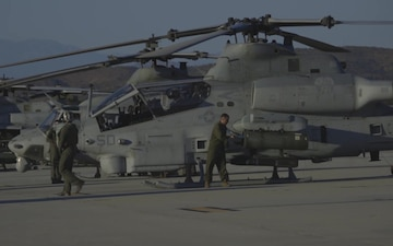 (B-roll) HMLA-267 Performs Night CAS and FAC-A for Summer Fury 2019