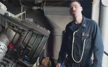 Boatswain Mate Magic Aboard USS WASP (LHD 1)