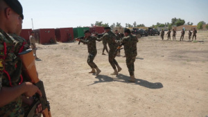 Iraqi Security Forces Breach and Clear