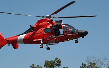USCG Search and Rescue Demonstration at 2019 World Scout Jamboree