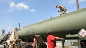 Army fuels Shaw Mission