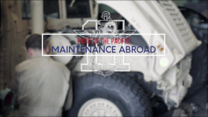 Pride of the Pacific: Maintenance Abroad