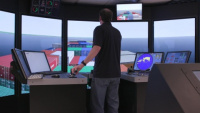 Ship Tow Simulation at ERDC Delivering Navigation Solutions
