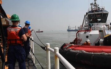California-based Coast Guard Cutter Stratton Arrives in Indonesia