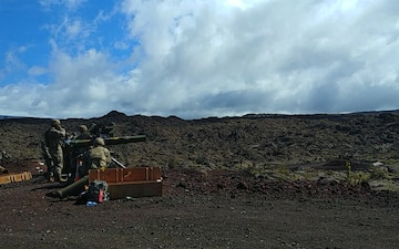 100th Battalion, 442nd Infantry Regiment conduct TOW Missile live fire training