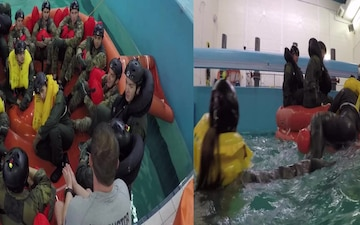 SERE-Water Survival Training