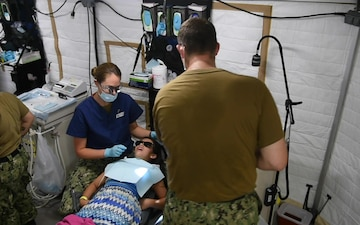Comfort Completes Medical Mission in Costa Rica
